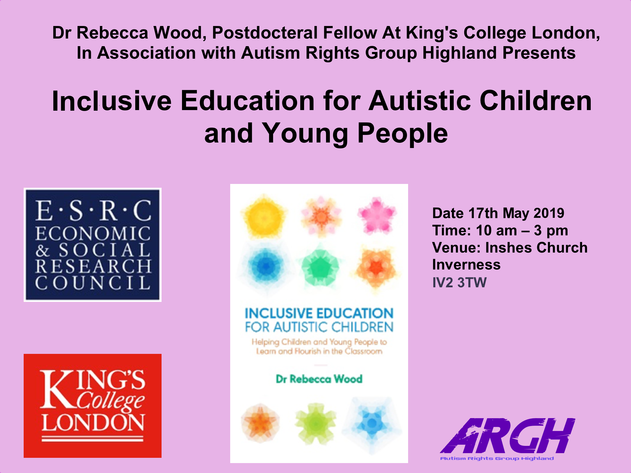 Inclusive education for Autistic Children and Young People (PARC)